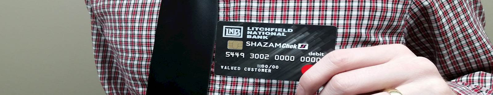 LNB Card tie man new card